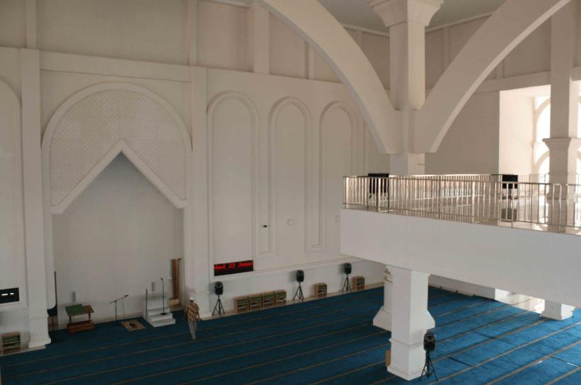 interior masjid muammar qaddafy