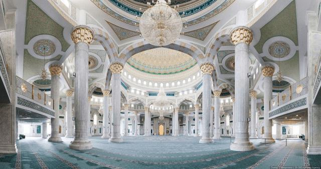 interior masjid nur astana