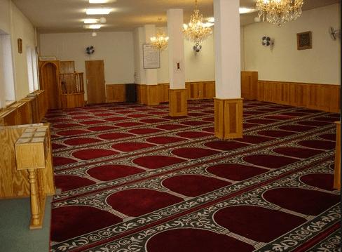 interior masjid praha