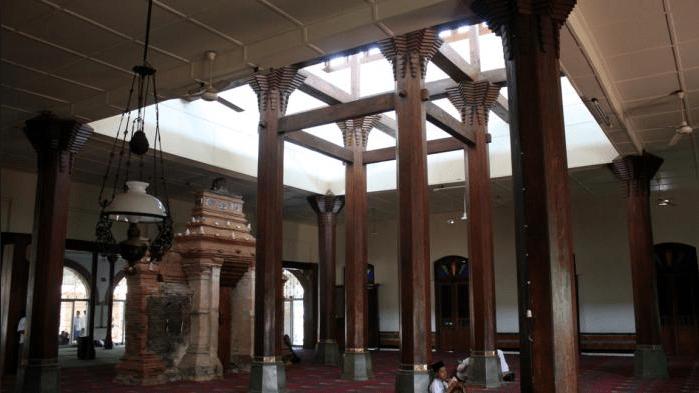 interior masjid sendang dhuwur