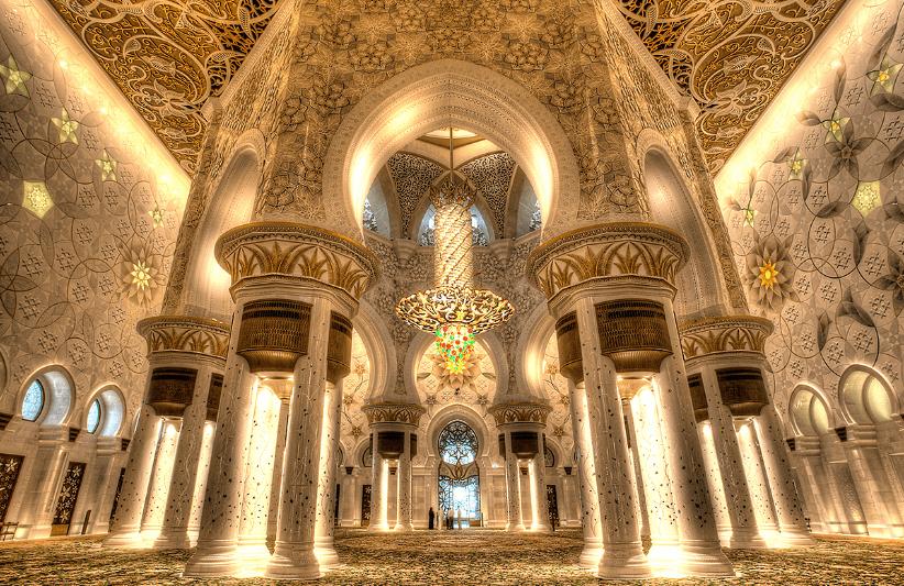 interior masjid sheikh zayed