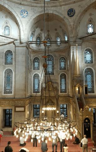 interior masjid sultan ayyup