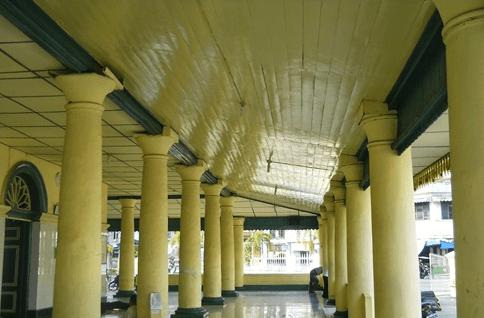 interior masjid tanjung balai