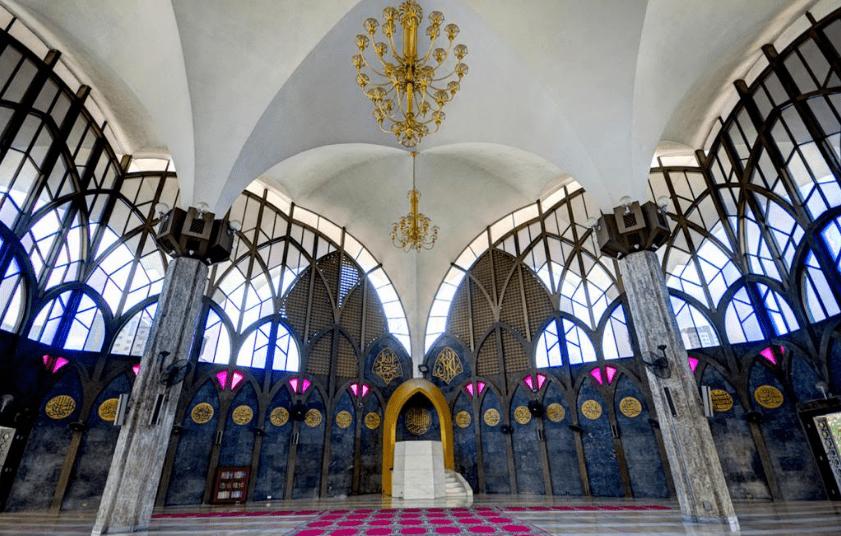 interior masjid thailand