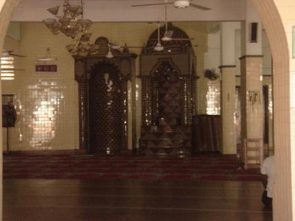 interior masjid wekande jummah