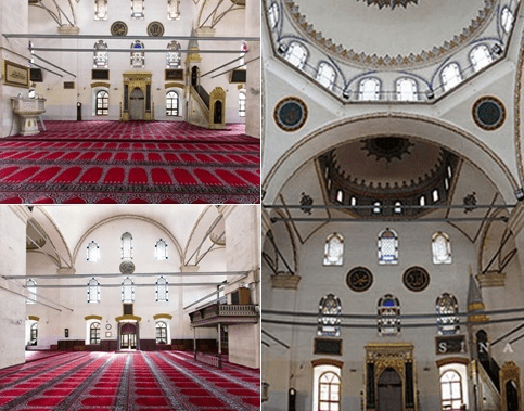 interior masjid zagan