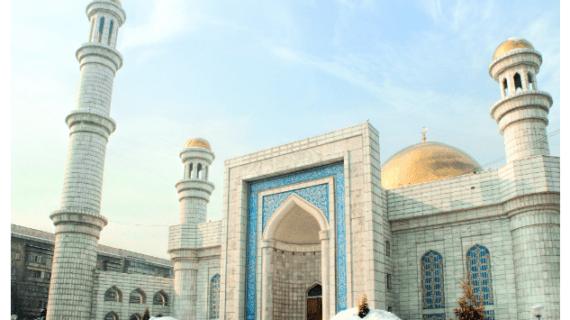 Masjid Agung Almaty, Kazakhstan