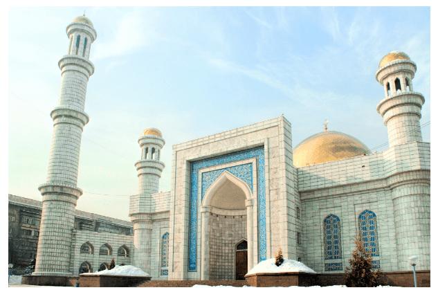 masjid agung almaty