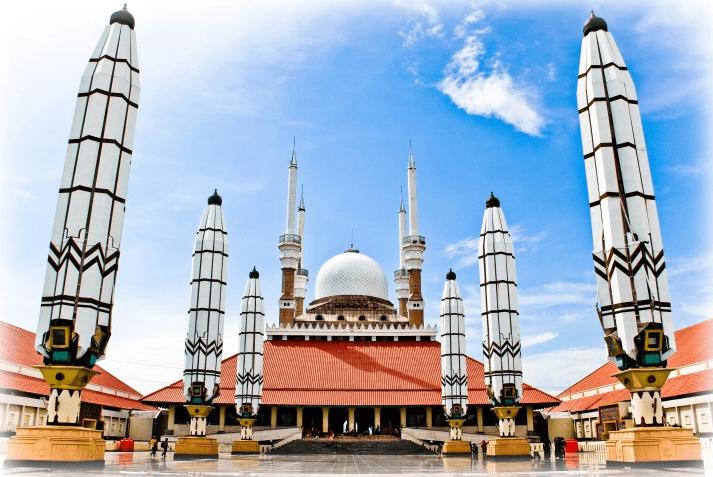 masjid agung jawa tengah.
