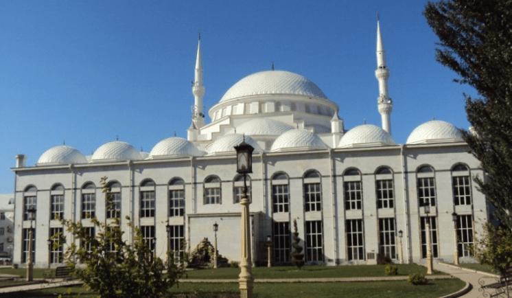 masjid agung makhachkala.