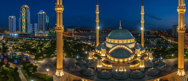 masjid akhmad kadyrov