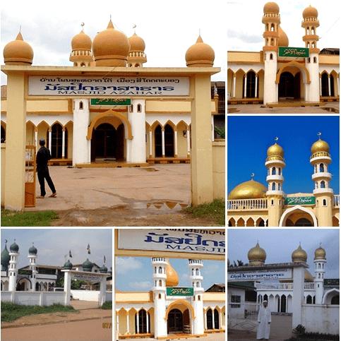 masjid azhar laos