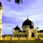 Masjid Azizi – Masjid Kesultanan Langkat – Sumatera Utara