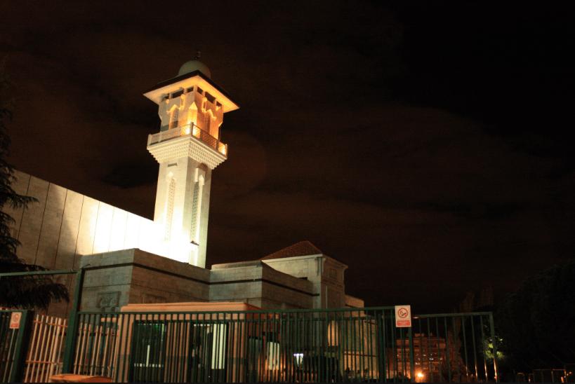 masjid di madrid