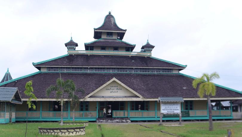 masjid jami' Sultan Syarif Abdurrahman