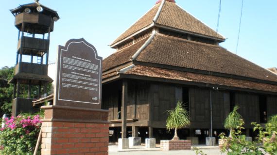 Masjid Kampung Laut Kelantan Malaysia – Masjid Mirip Masjid Agung Demak