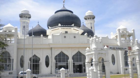 Masjid Rahmatullah Lampu'uk – Lhoknga – Aceh Besar