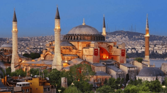 Masjid Hagia Sophia – Istanbul Turki