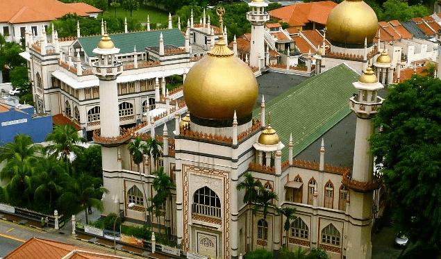 masjid sultan singapura.