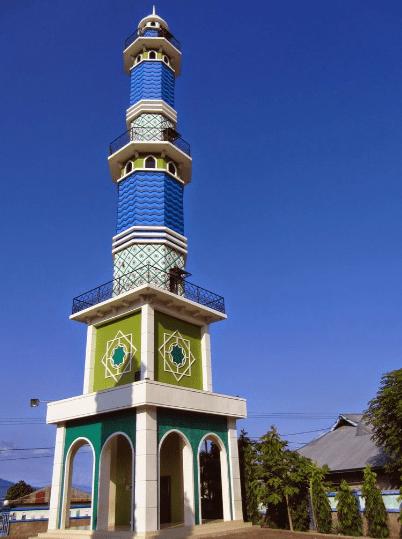 menara Masjid Al-Ijtihaj Lamakera