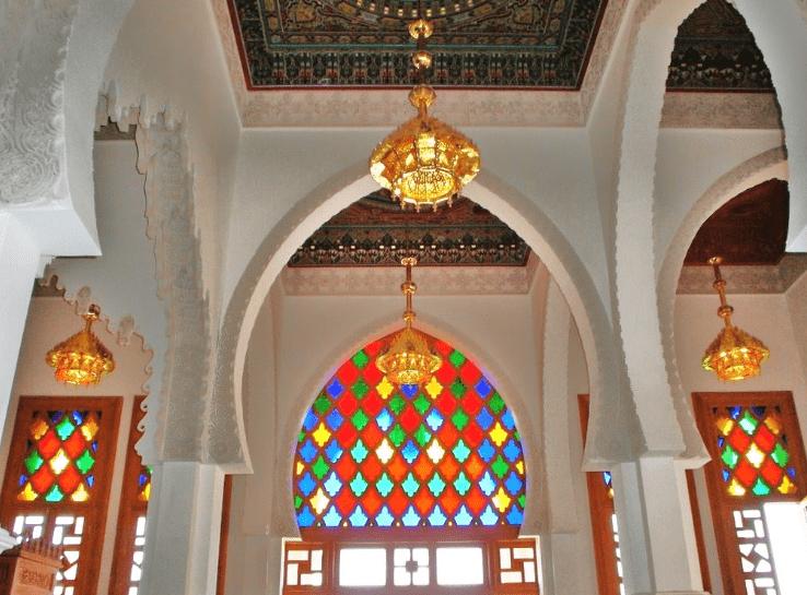 interior masjid agung coquimbo