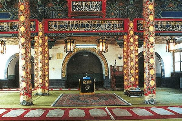 interior masjid huaiseng