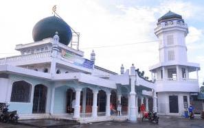 masjid agung awwal fathul mubien.