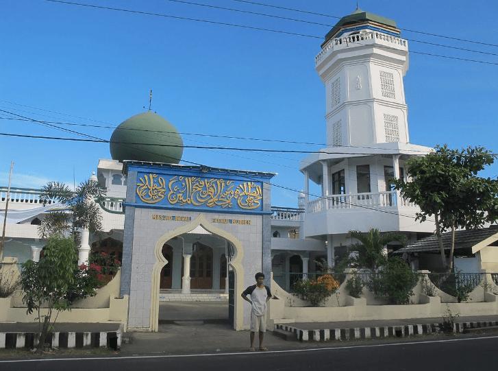 masjid agung awwal fathul mubien