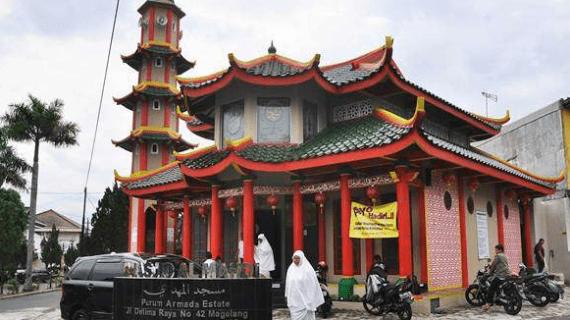Masjid Arsitektur China di Indonesia