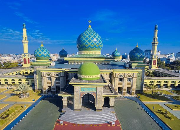 Masjid Agung An Nur Di Pekanbaru