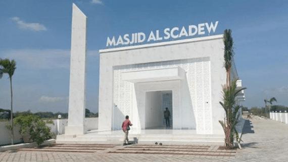 Masjid Artis Pedangdut Sisca Dewi Dengan Arsitektur Menawan