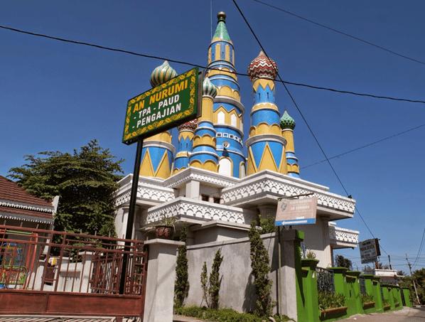 Masjid An Nurumi Jogja Solo