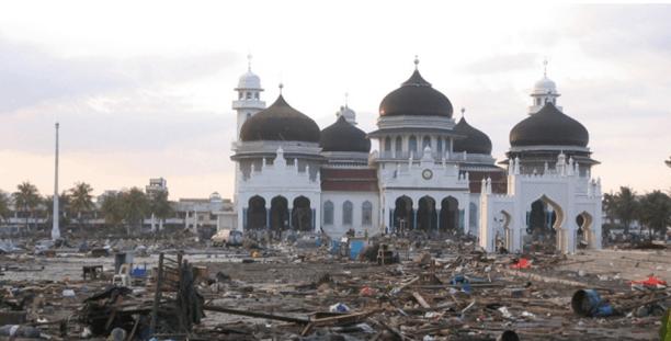 Masjid Baiturrahman Aceh Di Indonesia