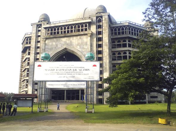 Masjid Rahmatan Lil Alamin Di Indramayu Jawa Barat