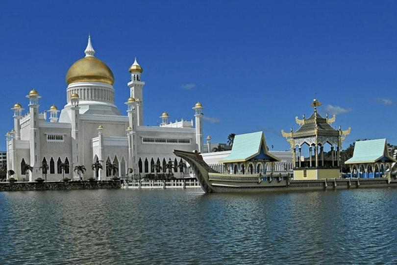 Sultan Omar Ali Saifuddin di Brunnei Darussalam