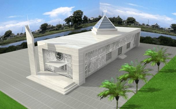 desain masjid artis