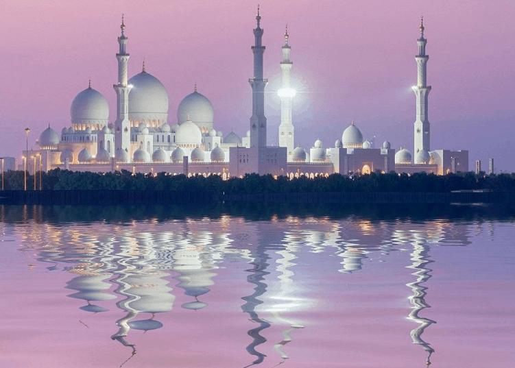Masjid Agung Sheikh Zayed abu dhabi