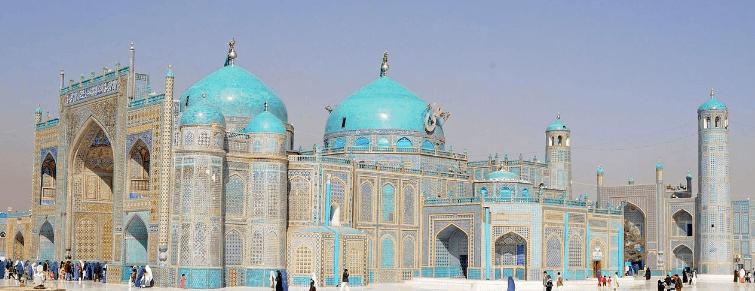 Masjid Biru Mazar i Sharif di Afghanistan