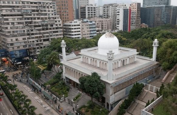 Masjid Kowloon di Hong Kong
