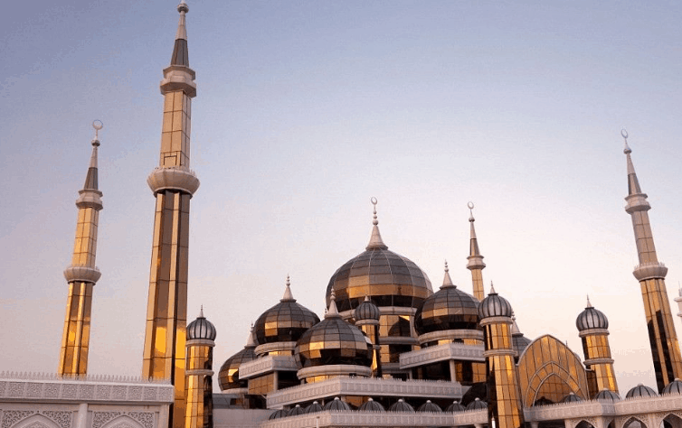Masjid Kristal di Kuala Trengganu, Malaysia