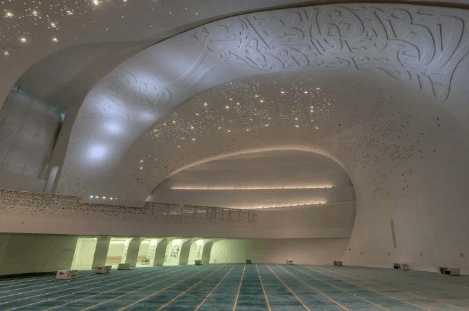 arsitektur Education City Mosque