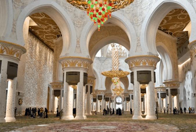 arsitektur Masjid Agung Sheikh Zayed
