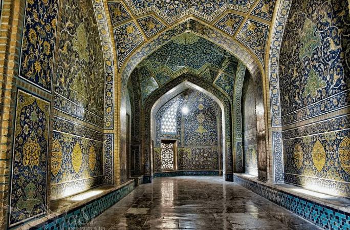 arsitektur Masjid Sheikh Lotfollah