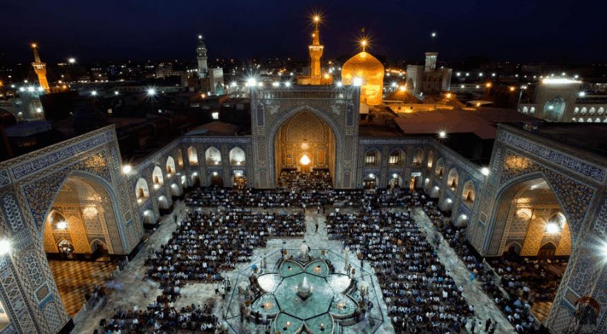 kapasitas Masjid Imam Reza