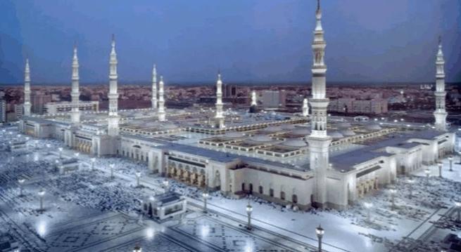 kapasitas Masjid Nabawi