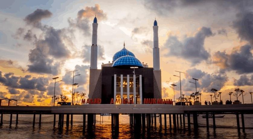 Masjid Amirul Mukminin, di Makassar