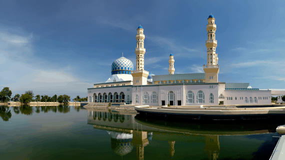 Masjid Terapung Terindah di Dunia