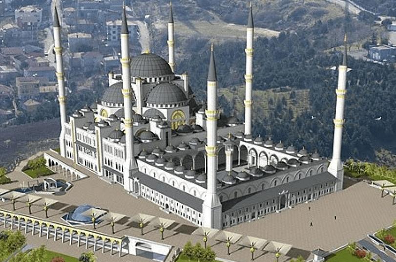 Masjid Camlica, Istanbul