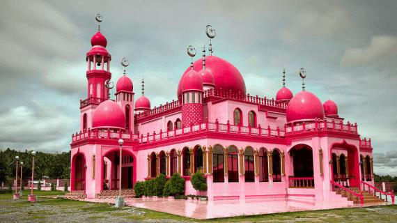 Masjid Warna-Warni Terindah Dan Termegah Di Dunia
