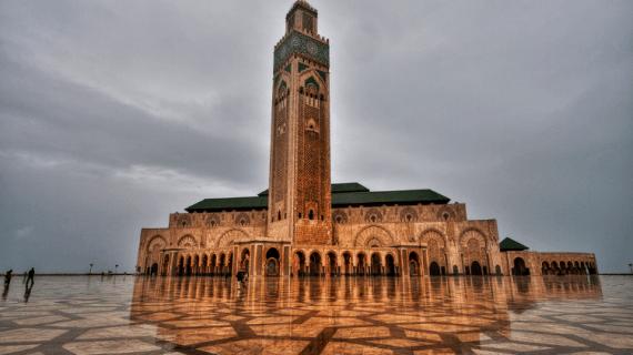 Masjid Hassan II di Maroko
